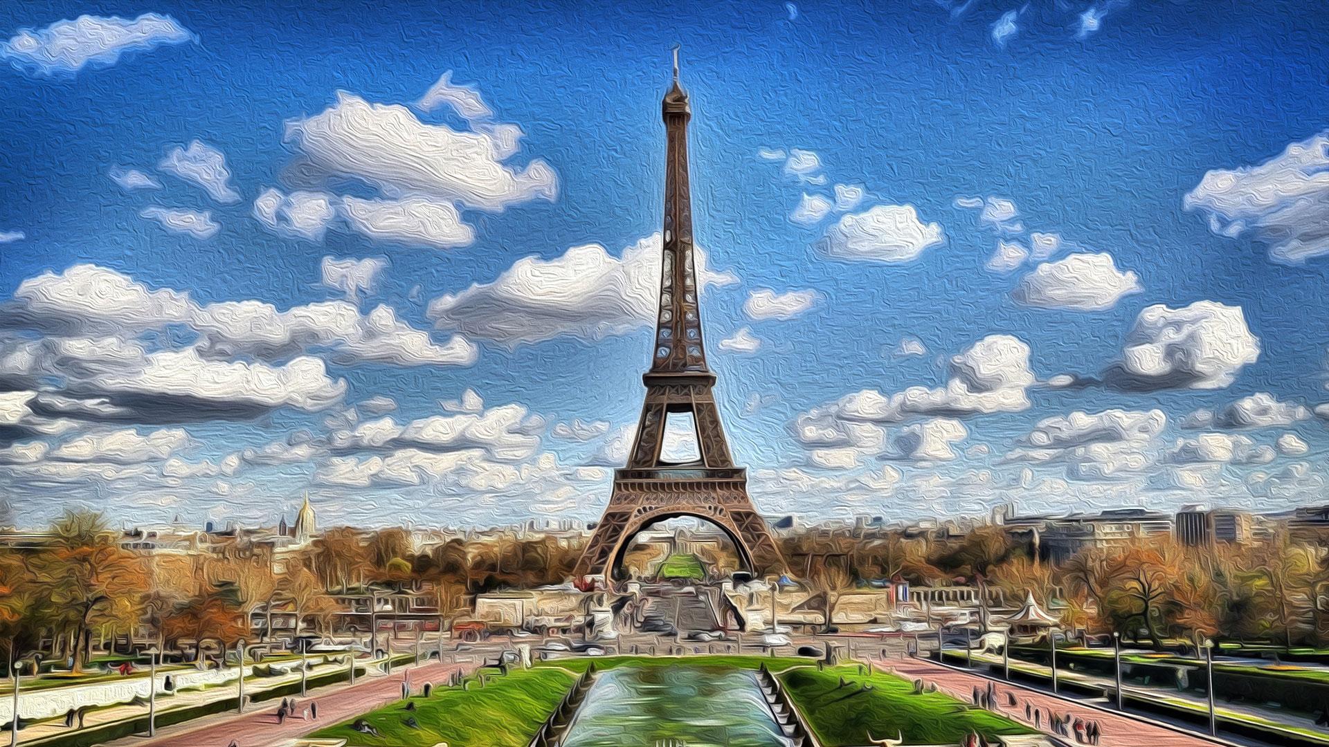 Paris - pintura digital